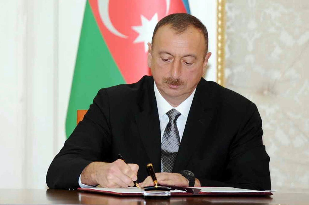 """Prezident İlham Əliyev """"ABAD"""" publik hüquqi şəxsin yaradılması haqqında fərman imzalayıb"""