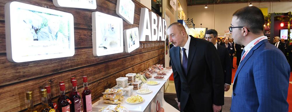 """""""ABAD"""" XXIV Azərbaycan Beynəlxalq Qida Sənayesi sərgisində təqdim olunub"""