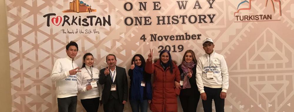 """""""ABAD"""" """"Türkistan: bir yol – bir tarix"""" forumunda iştirak edir"""