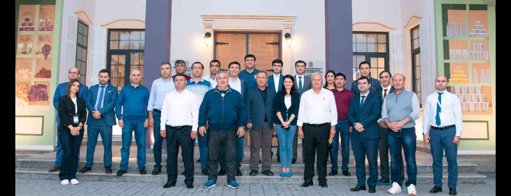 """Tacikistanın nümayəndə heyəti """"ABAD Factory"""" Kompleksi ilə tanış olublar"""