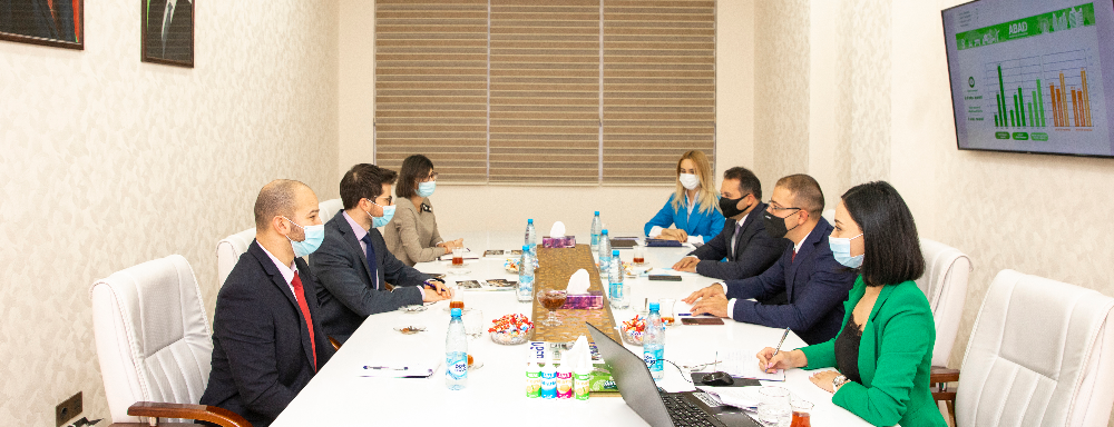 The representatives of the diplomatic mission of Israel in Azerbaijan visit ABAD