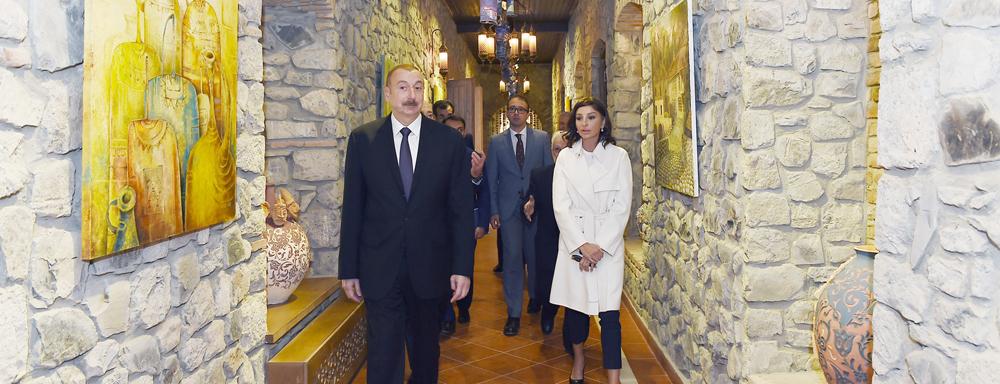 """Şəkidə """"ABAD"""" Keramika və Tətbiqi Sənət Mərkəzinin açılışı baş tutdu"""