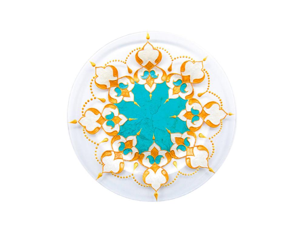 Ornamentli boşqab