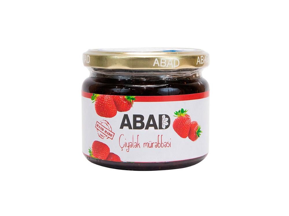 """""""ABAD"""" çiyələk mürəbbəsi"""