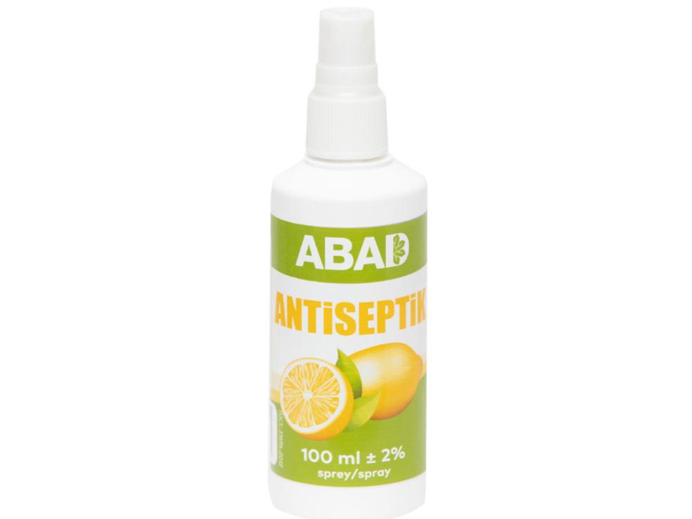 Limonlu antiseptik sprey