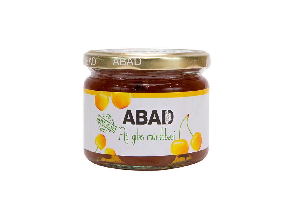 """""""ABAD"""" ağ gilas mürəbbəsi"""