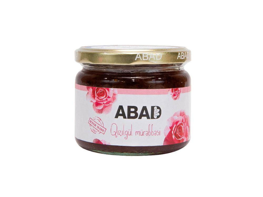 """""""ABAD"""" qızılgül mürəbbəsi"""